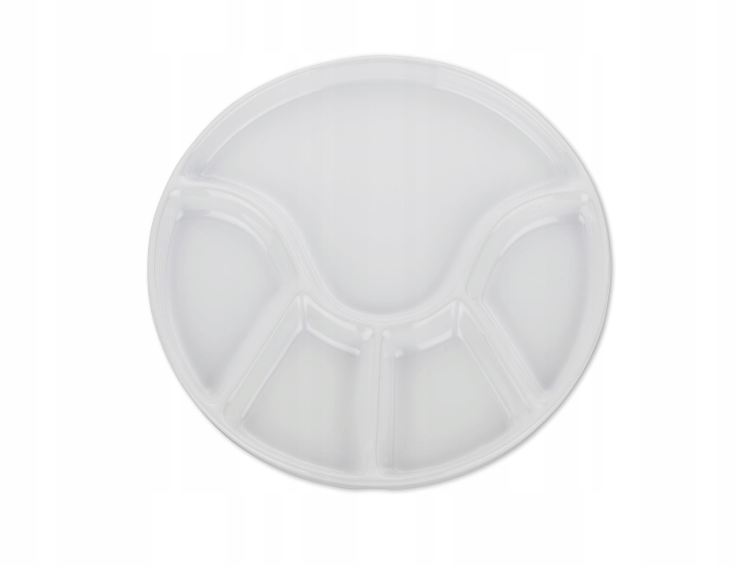 Talerz Kela Anneli do fondue 21,5 cm biały