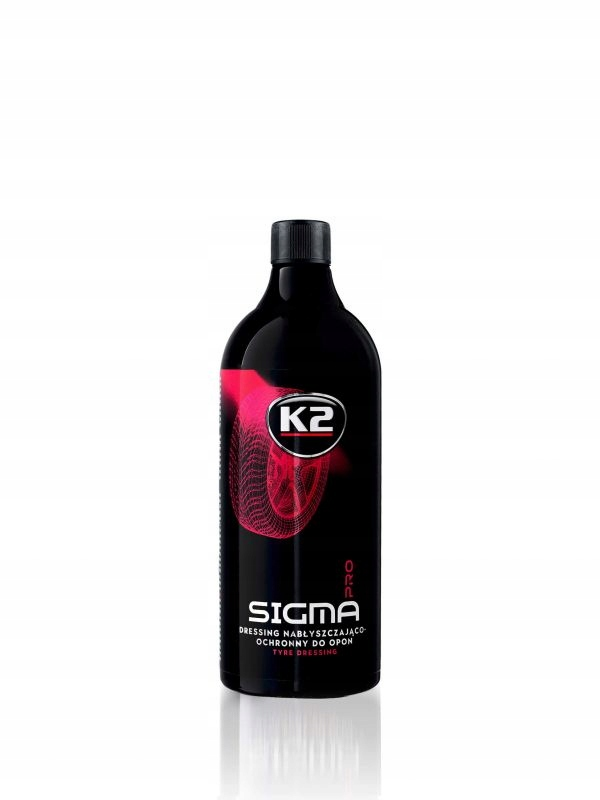 K2 SIGMA PRO 1L Dressing nabłysz-ochronny do opon