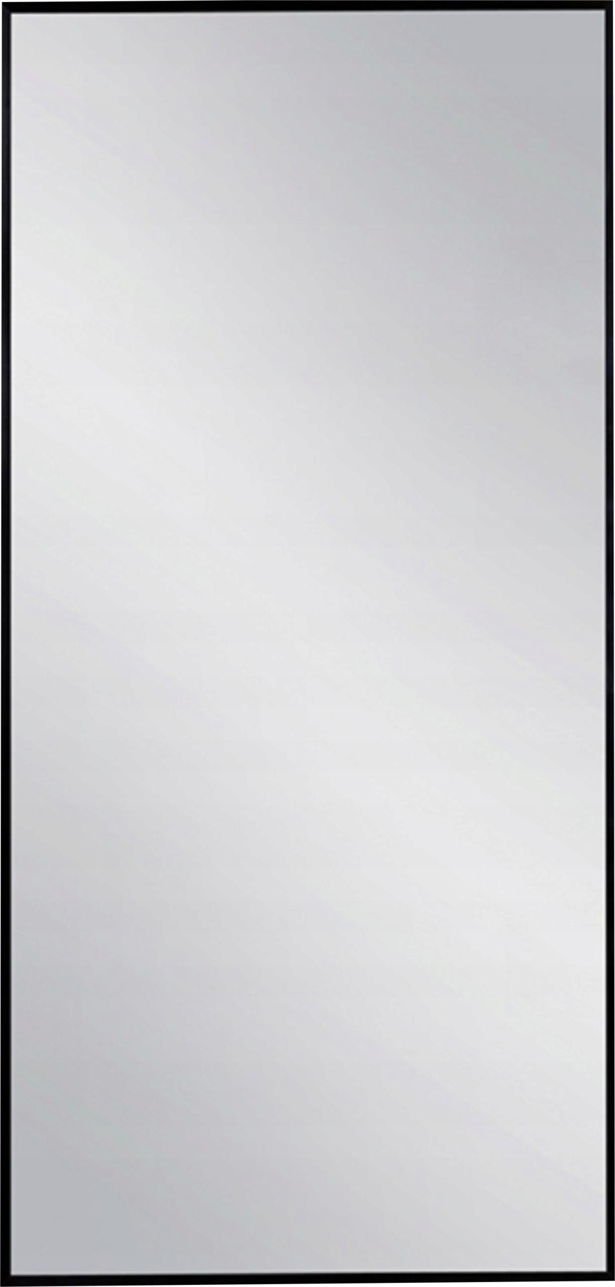 Zrkadlo 160x40 ramenný ČIERNY úzky rám kúpeľne