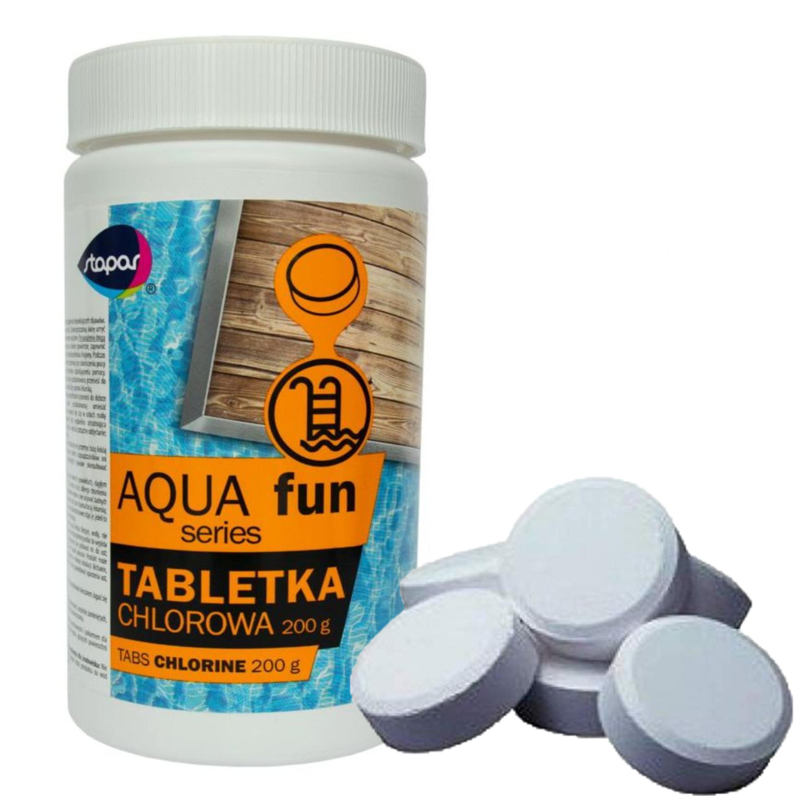 Chlor Do Basenu Tabletki 10w1 Duze Multi 200g 9378621152 Allegro Pl