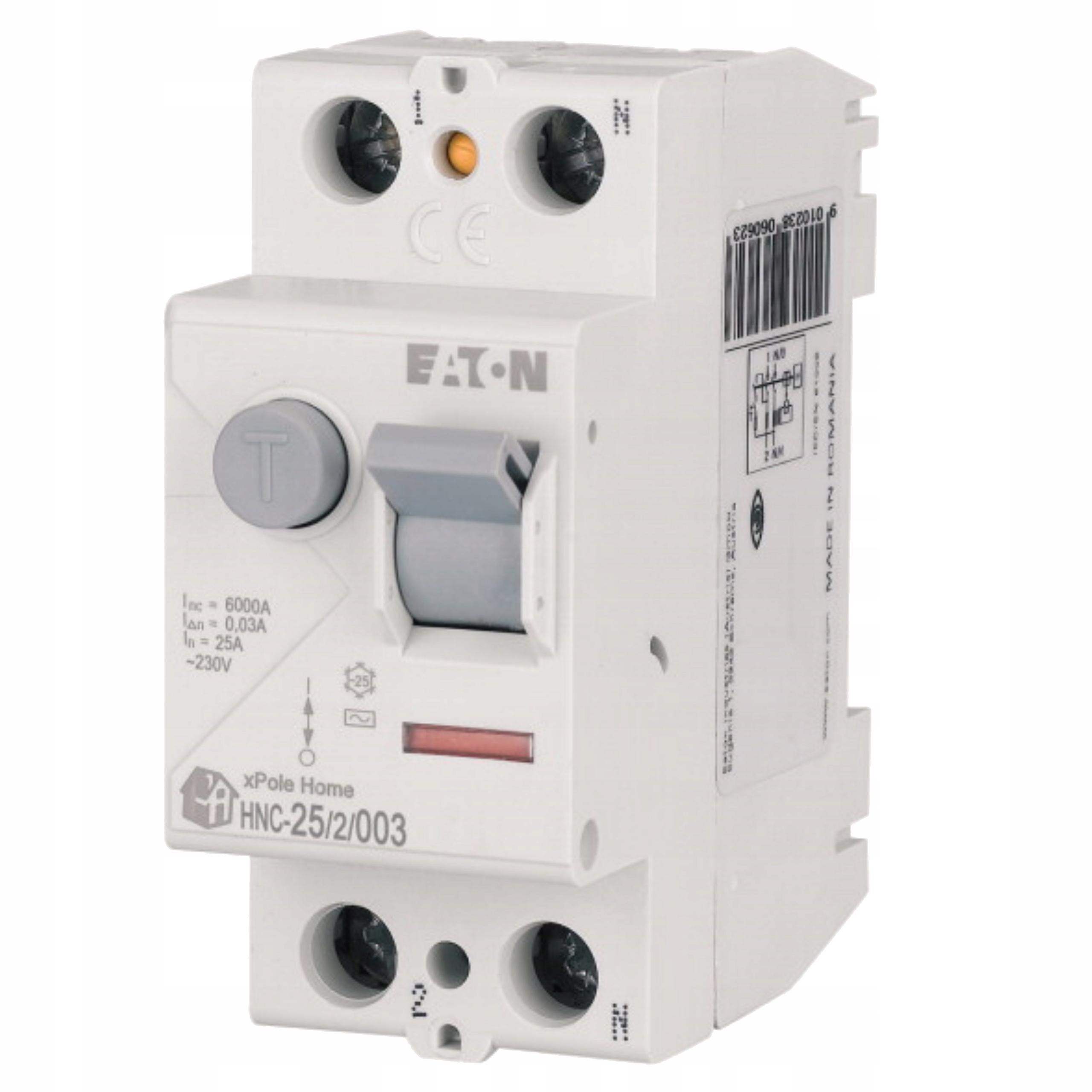 Автоматический выключатель дифференциального тока 2П 25А 0,03А, 30мА тип.