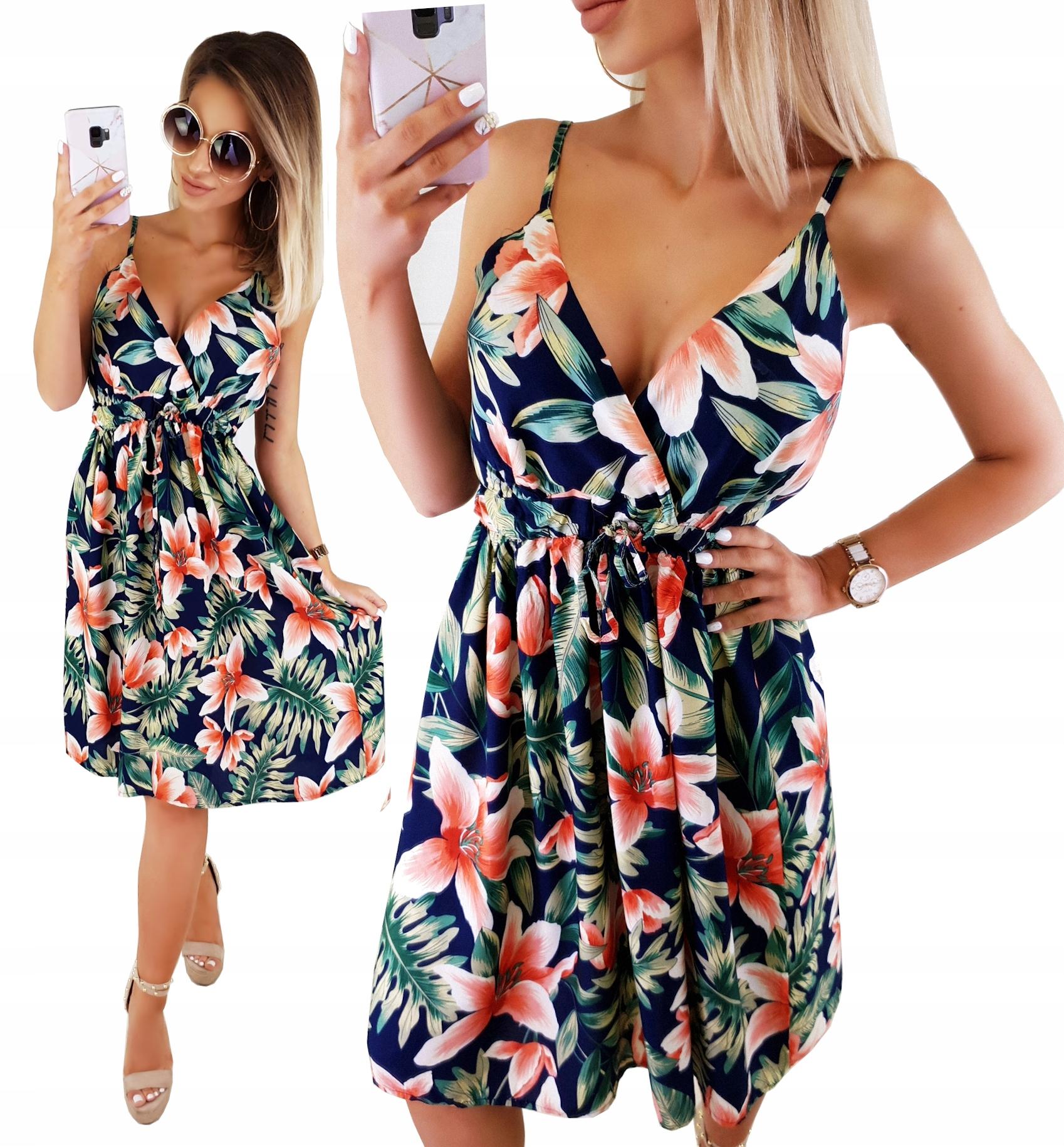Романтическое гибридное платье. Женский декольте цветы