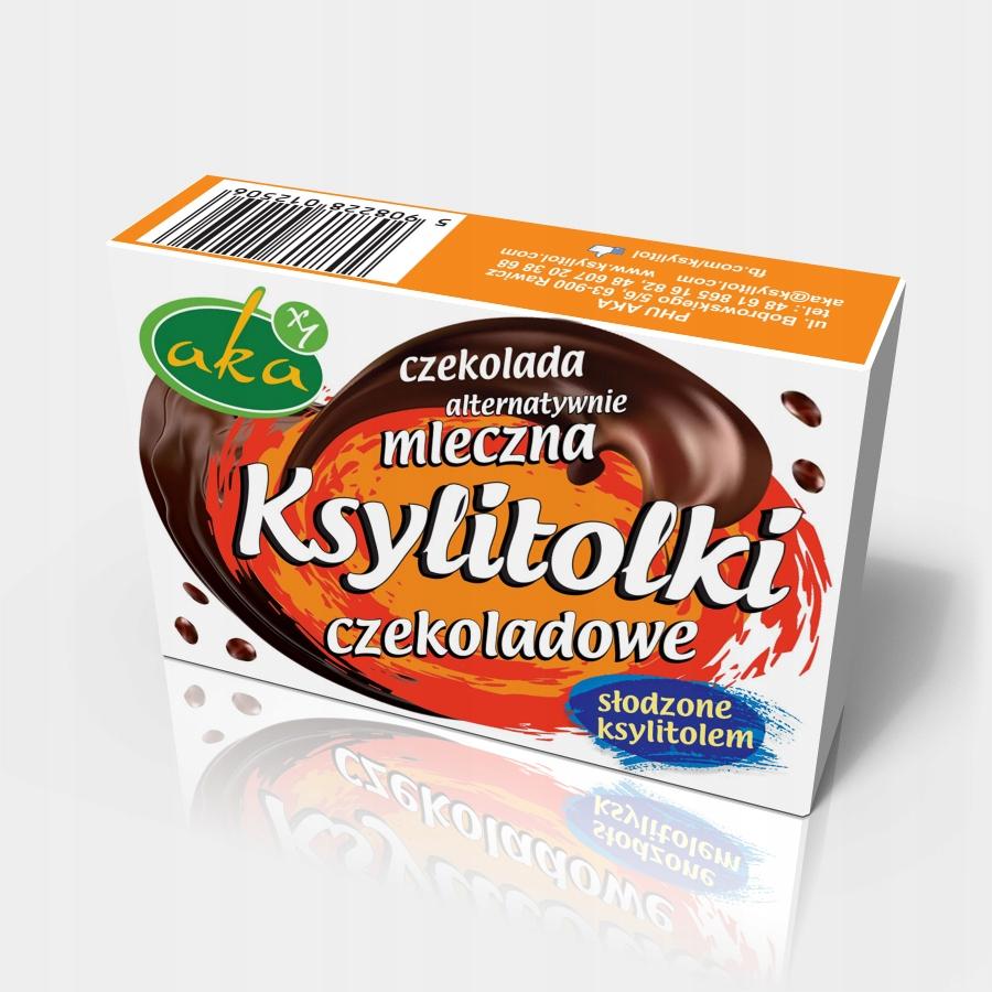 Шоколадные ксилитолки альт. молочные капли 35г