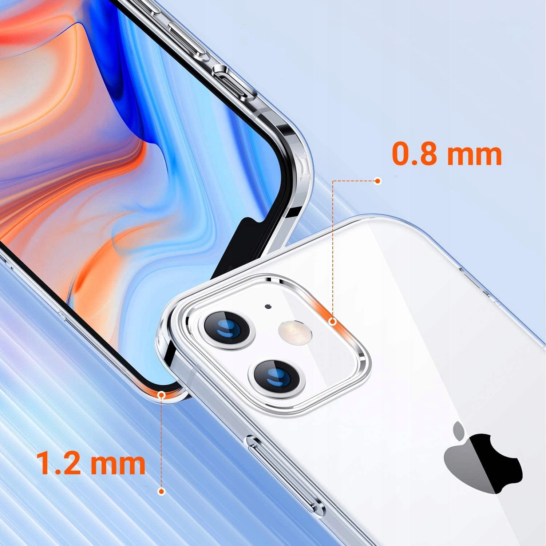 Etui do iPhone 12 / 12 Pro Clear Case + Szkło 9H Producent pavel lux