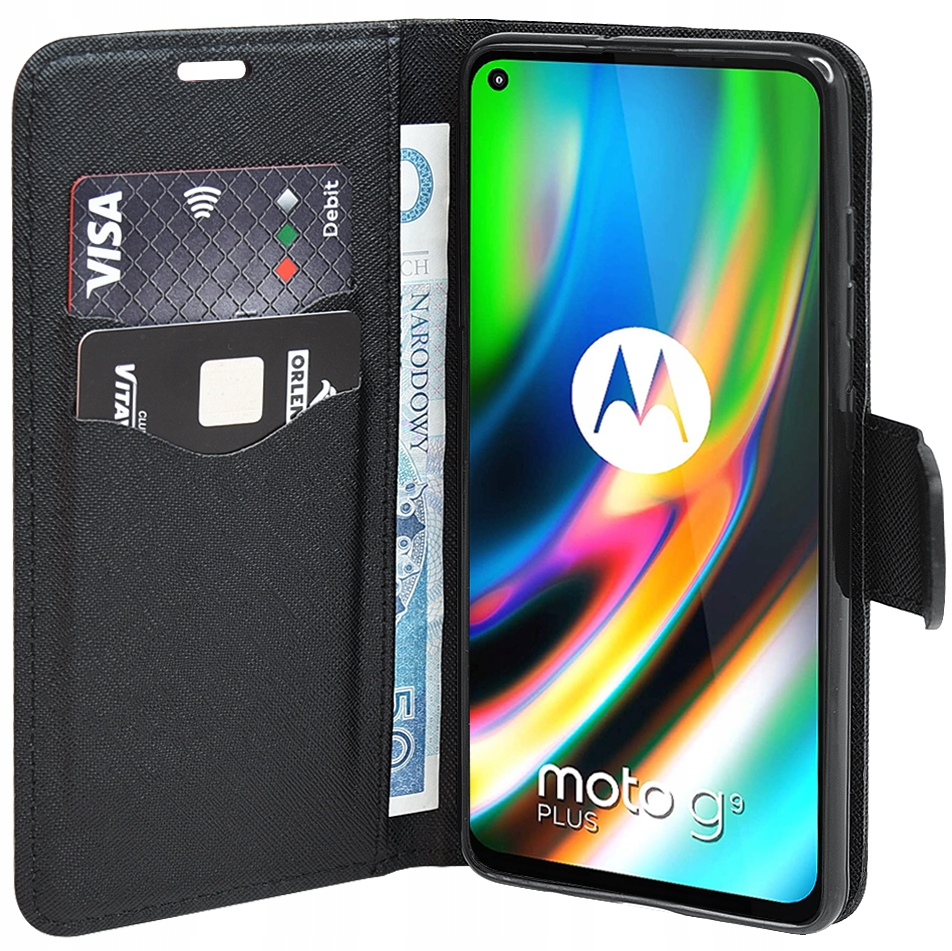 Etui do Motorola Moto G9 Plus Fancy Case + SZKŁO Dedykowany model Motorola Moto G9 Plus