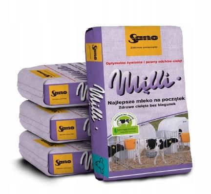 молоко для телят SANO Милли NON_GMO