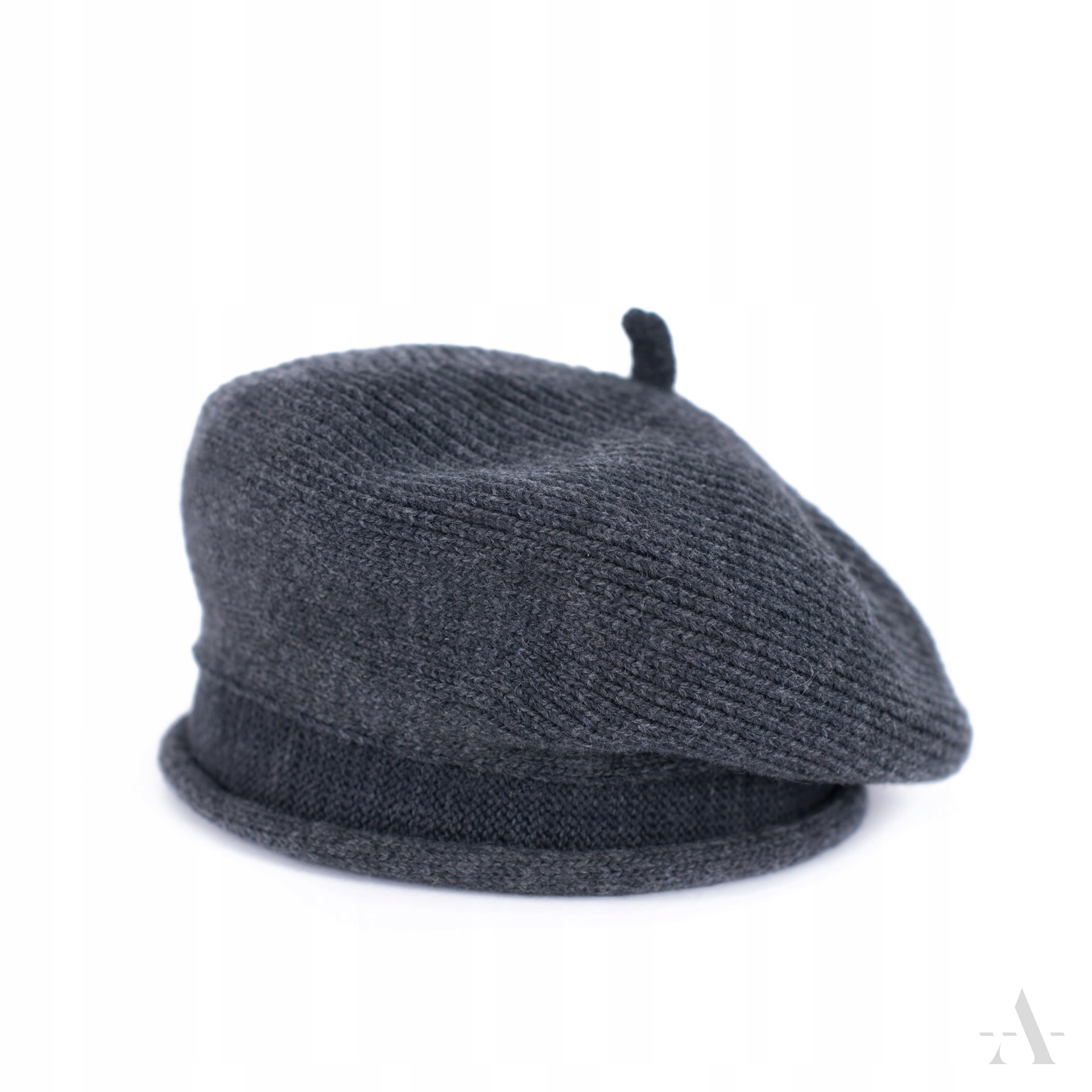 Dámsky baret WOOL Elegantný prémiový retro LUX!