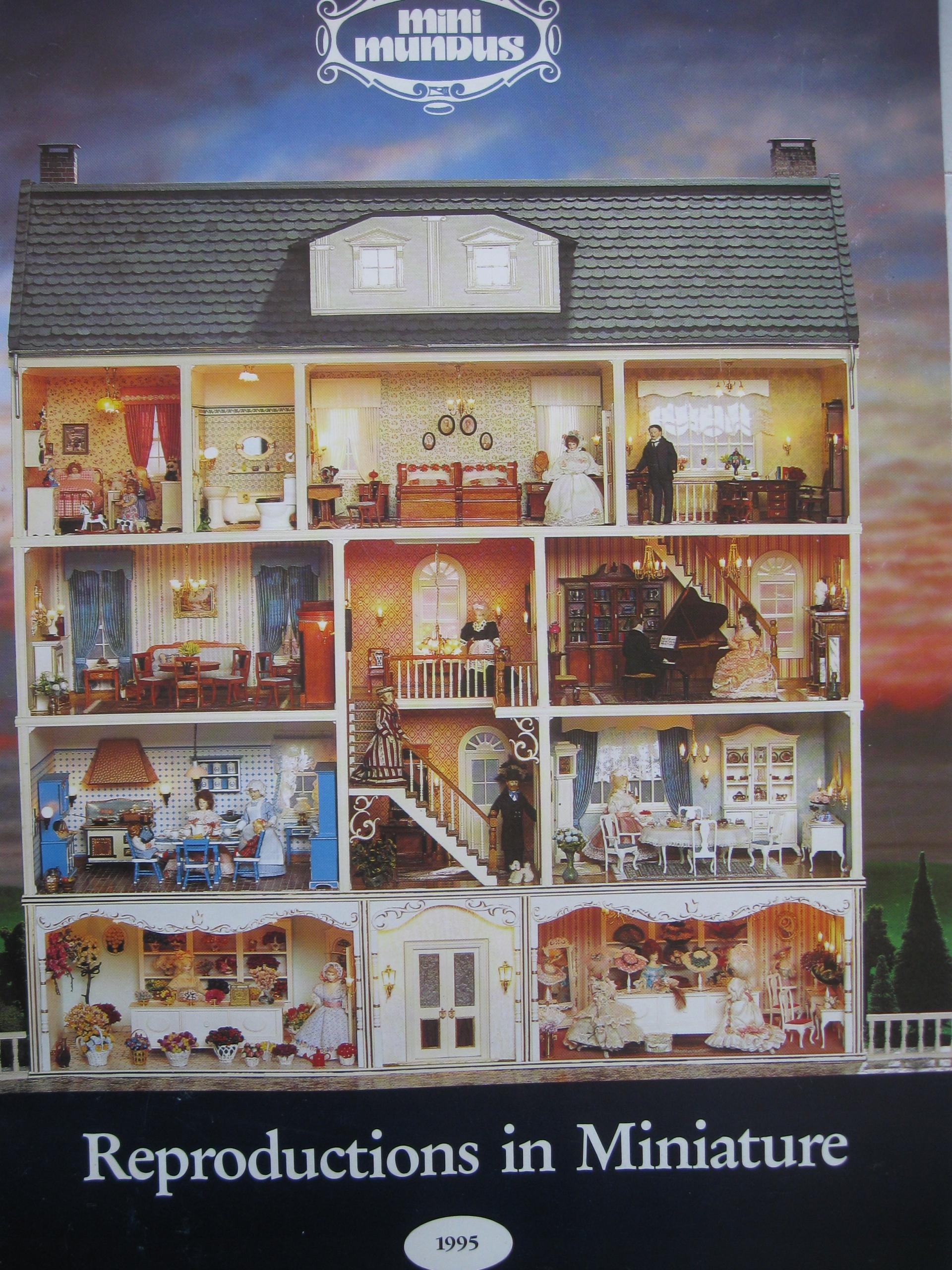 MINI MUNDUS Miniaturowe domki lalek KATALOG 1995