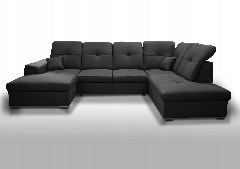 KOMFORTABLE ECKE BLANCO U - FARBEN Die Breite der Möbel beträgt 337 cm