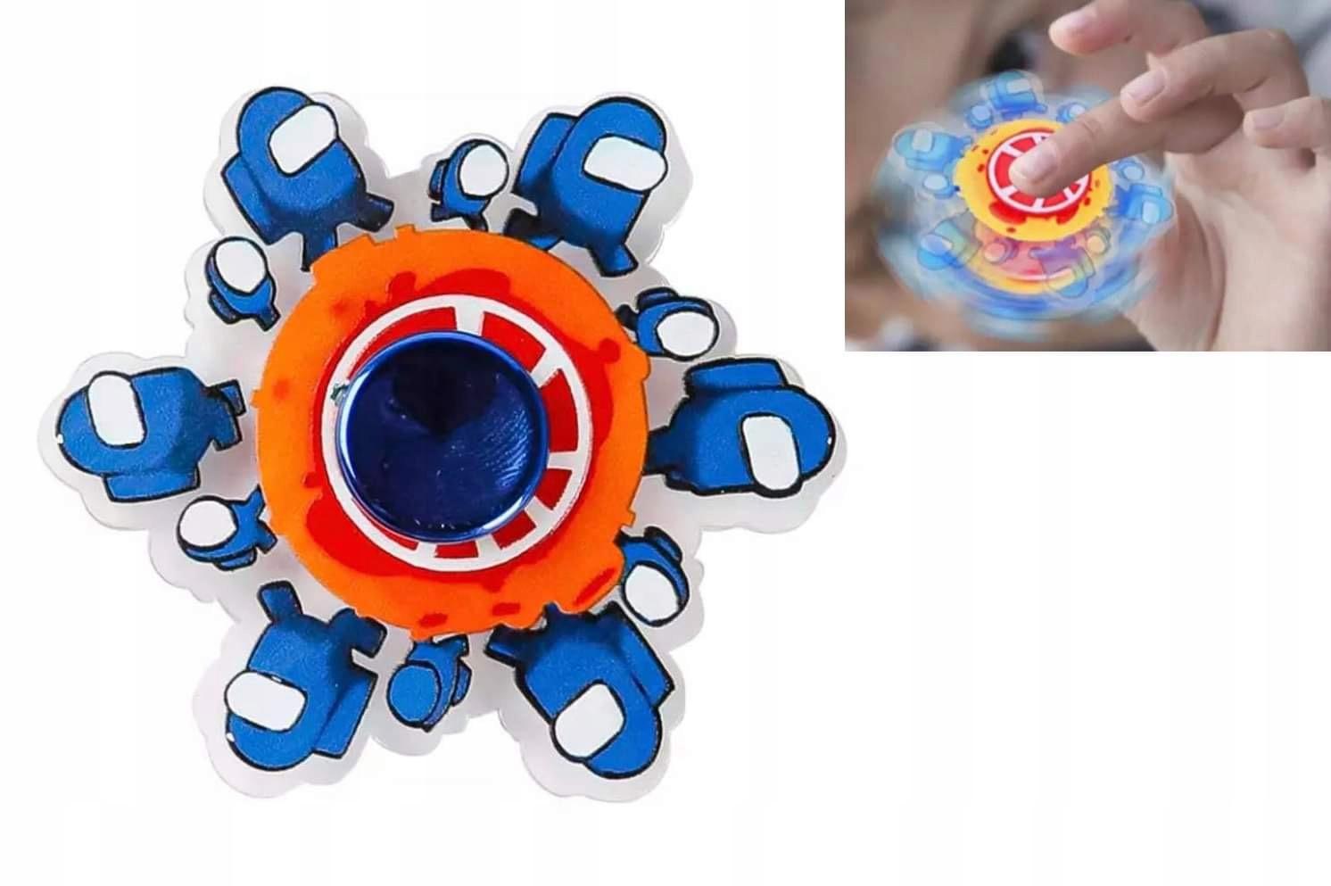 Fidget spinner esgot animacja zabawki antystresowe