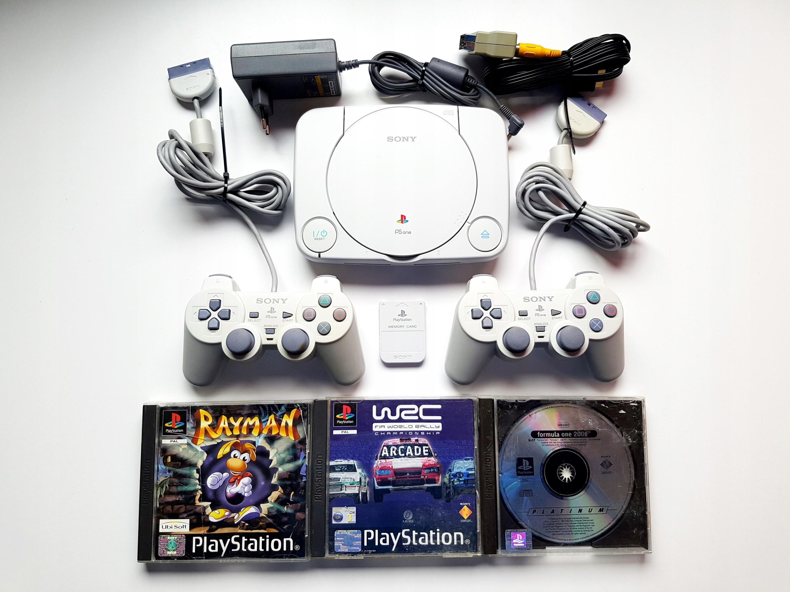 Playstation 1 PSOne PSX PS1 SCPH-102 GRY GWARANCJA