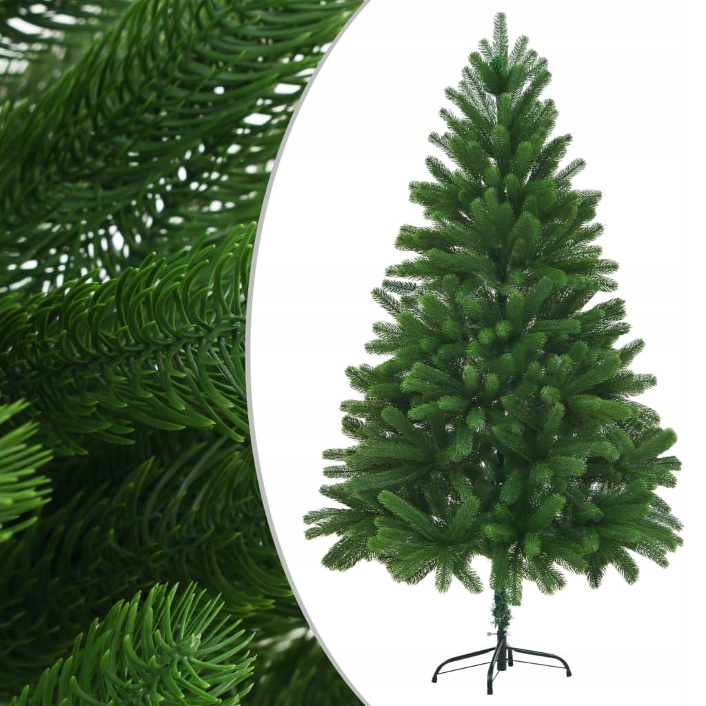 Umelý vianočný stromček s realistickými ihlami, 210 cm,