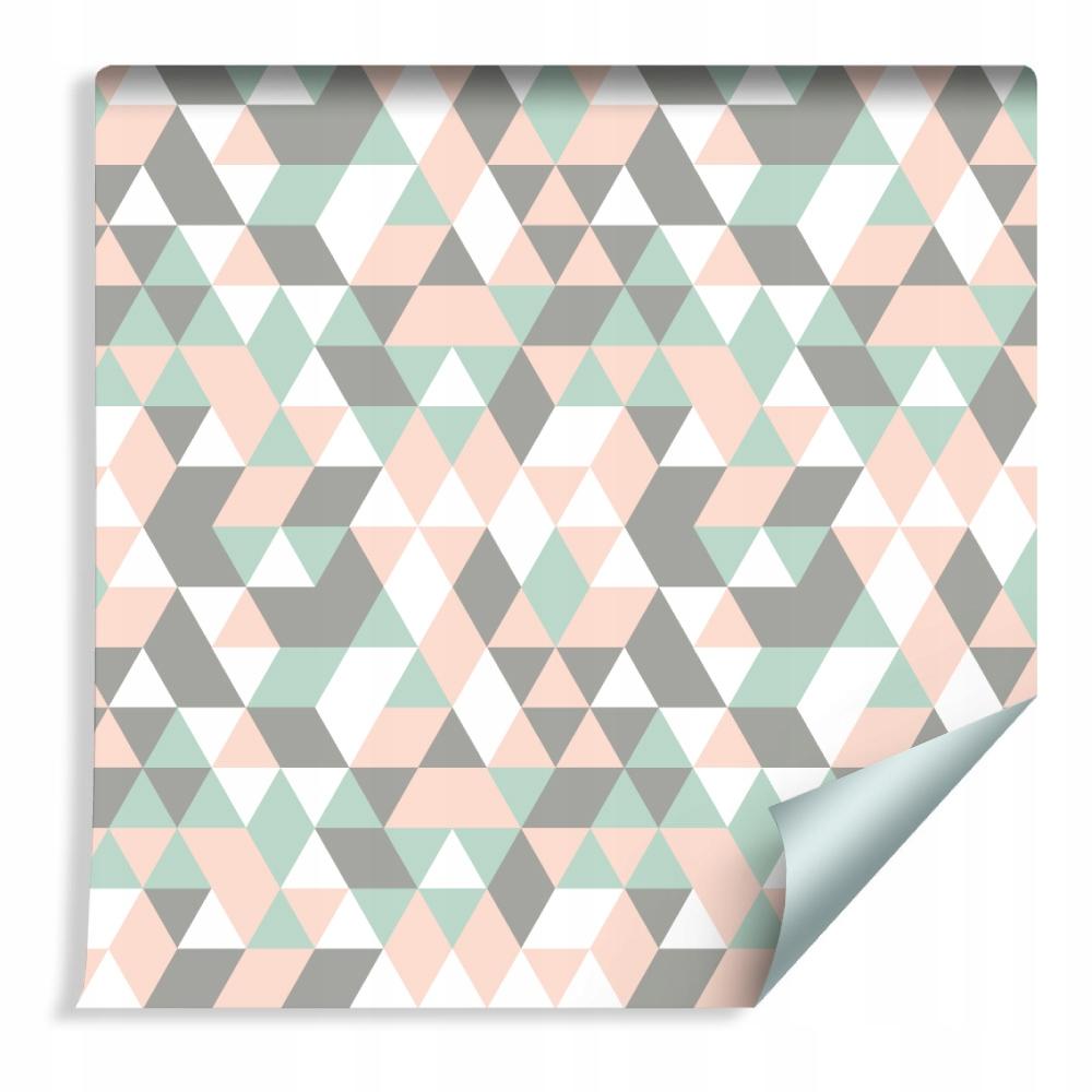 Farebné tapety do trojuholníka v spálni