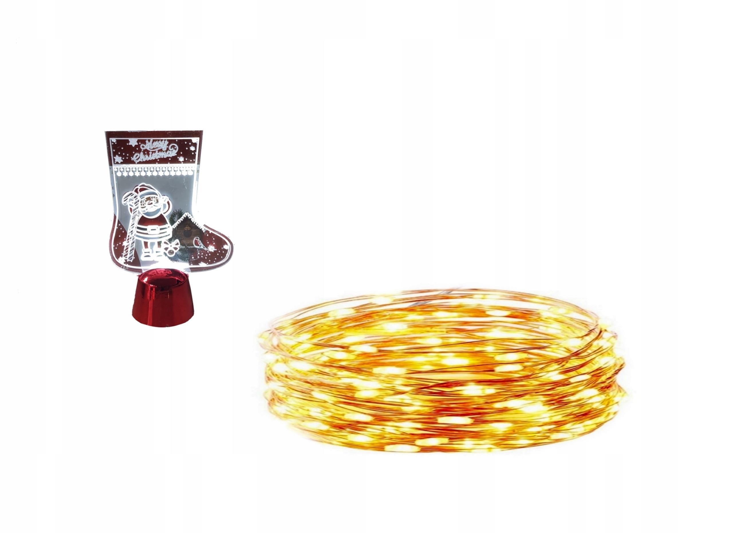 Лампы wiciki 50 LED на батарейках 5м БЕСПЛАТНО