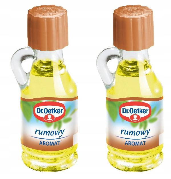 Dr. Oetker Aromat rumowy spożywczy 2 x 9 ml