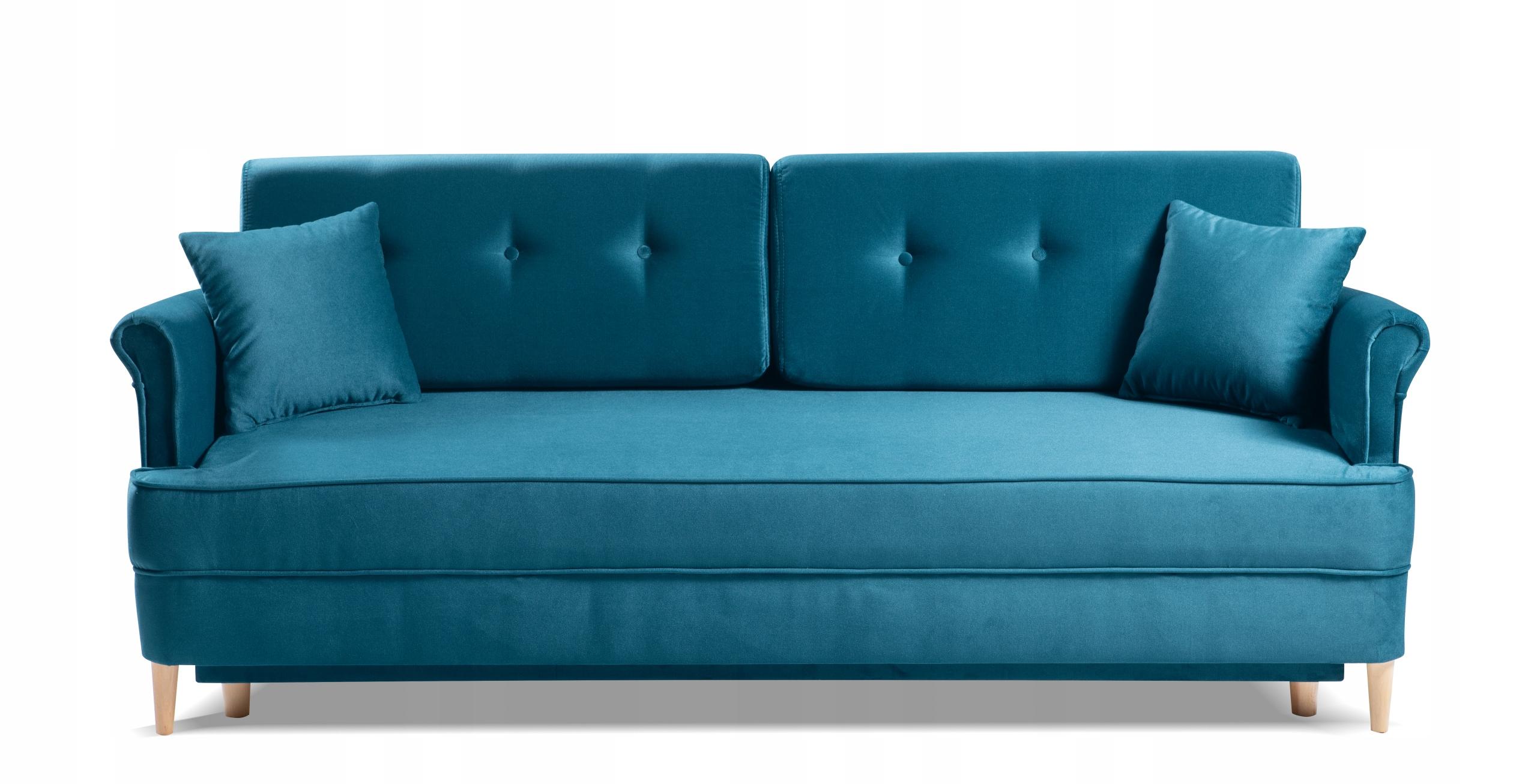 LUIS Sofa stilvolles Sofa f. Schlafbehälterfarben Dreisitzergröße