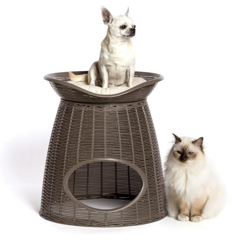 BAMA Domek pufa siedzisko legowisko dla kota PASHA