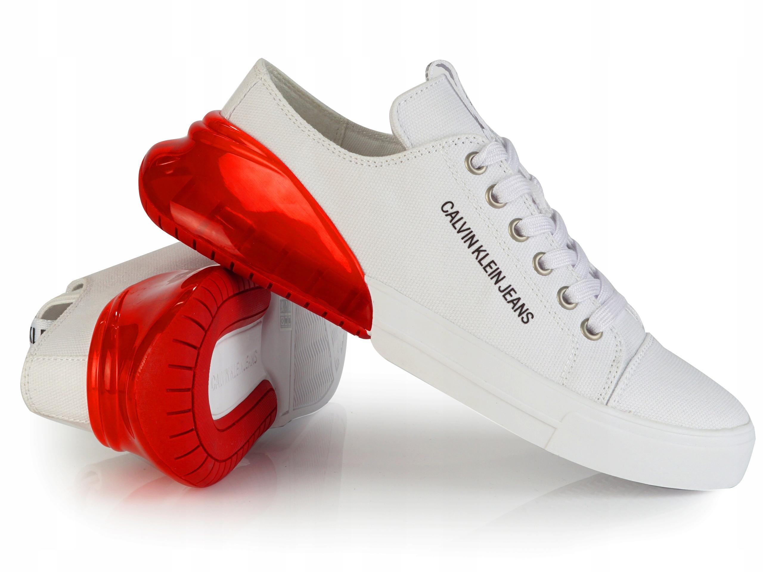 Buty Damskie Calvin Klein Jeans B4r0765 Trampki 9501070649 Allegro Pl