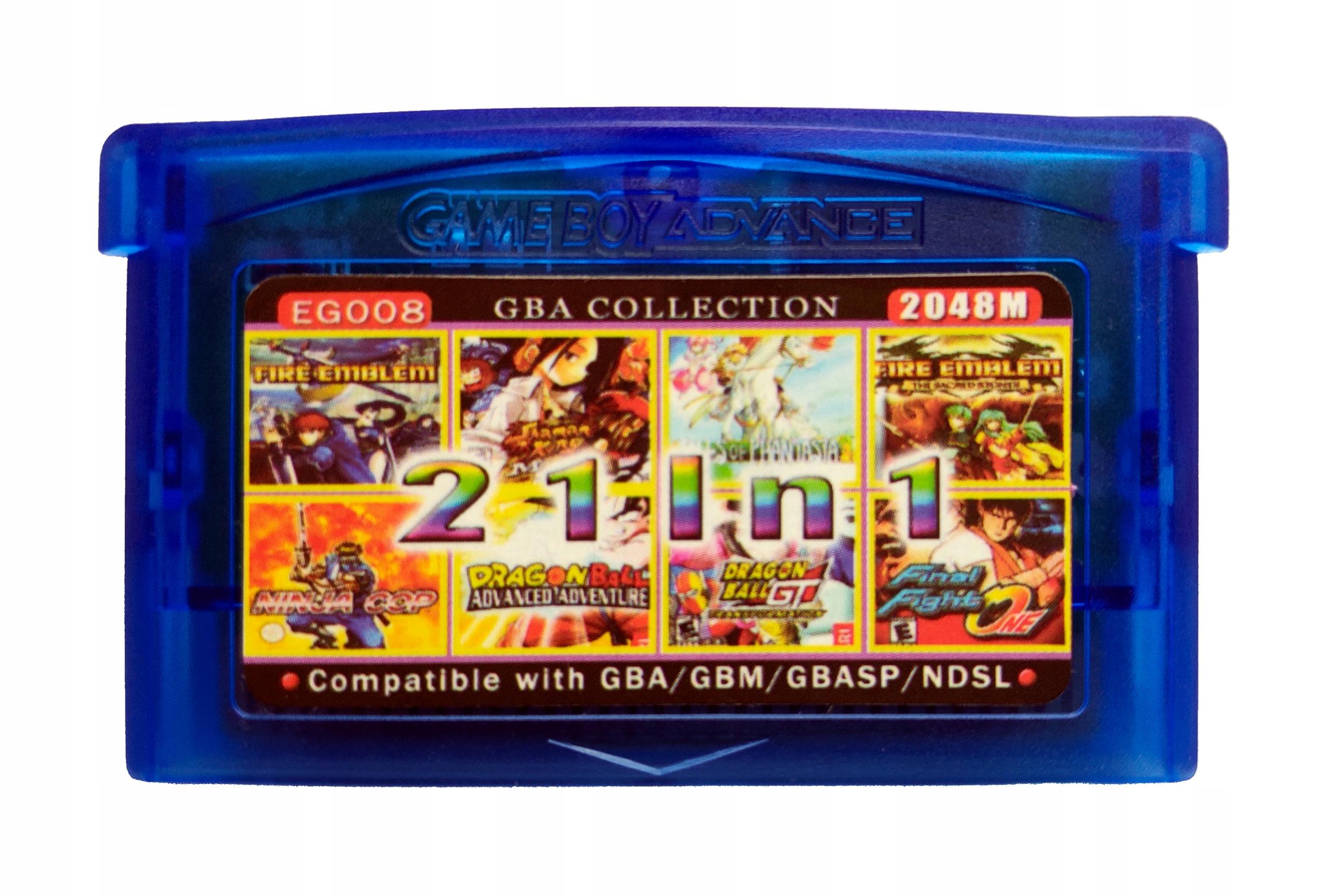 21 v 1 GameBoy Advance - Fire Emblem, Dragon Ball