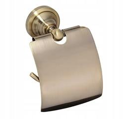 Bronzový držiak papiera BEMETA RETRO s chlopňou