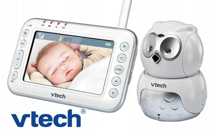 Vtech BM4600 Cyfrowa Niania LCD Kamera Interkom