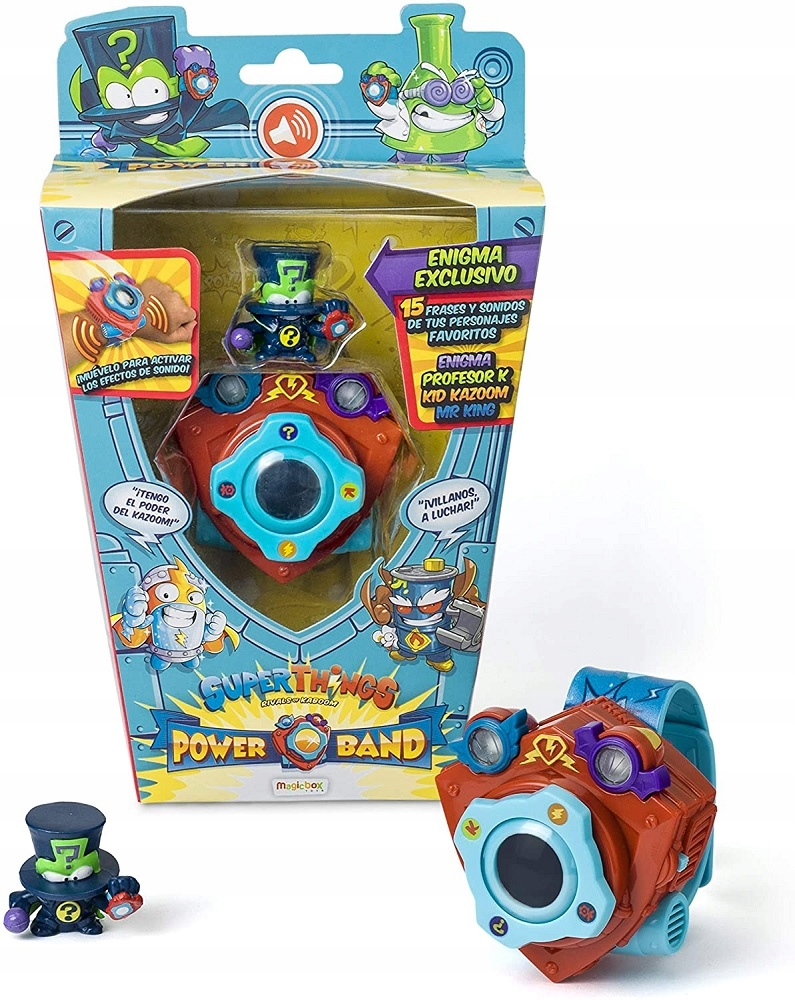 SUPER ZINGS POWER BAND HODINKY 6 VECÍ S ENIGMA