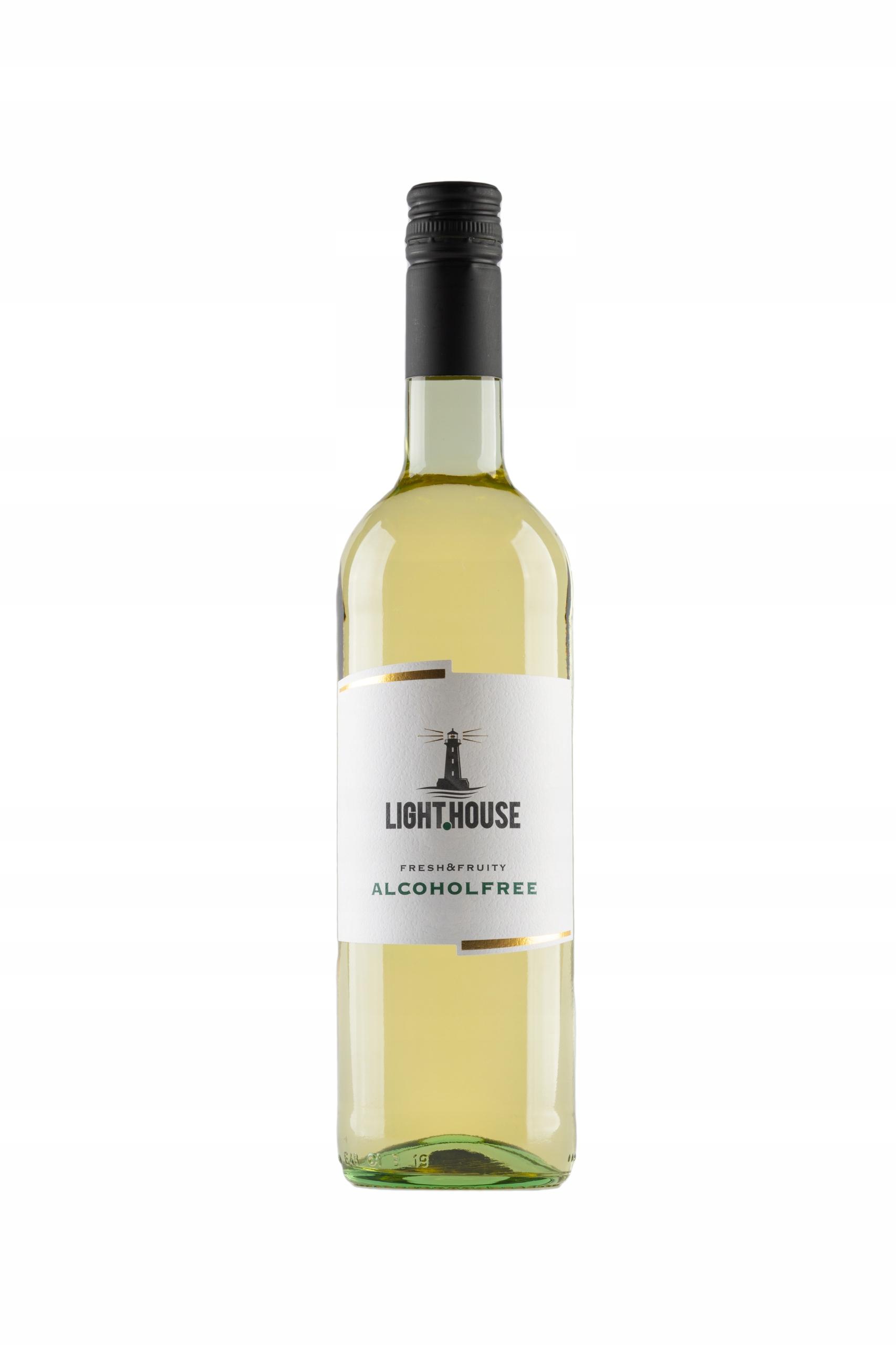 Light House White 0,75l Wino 0% białe półsłodkie