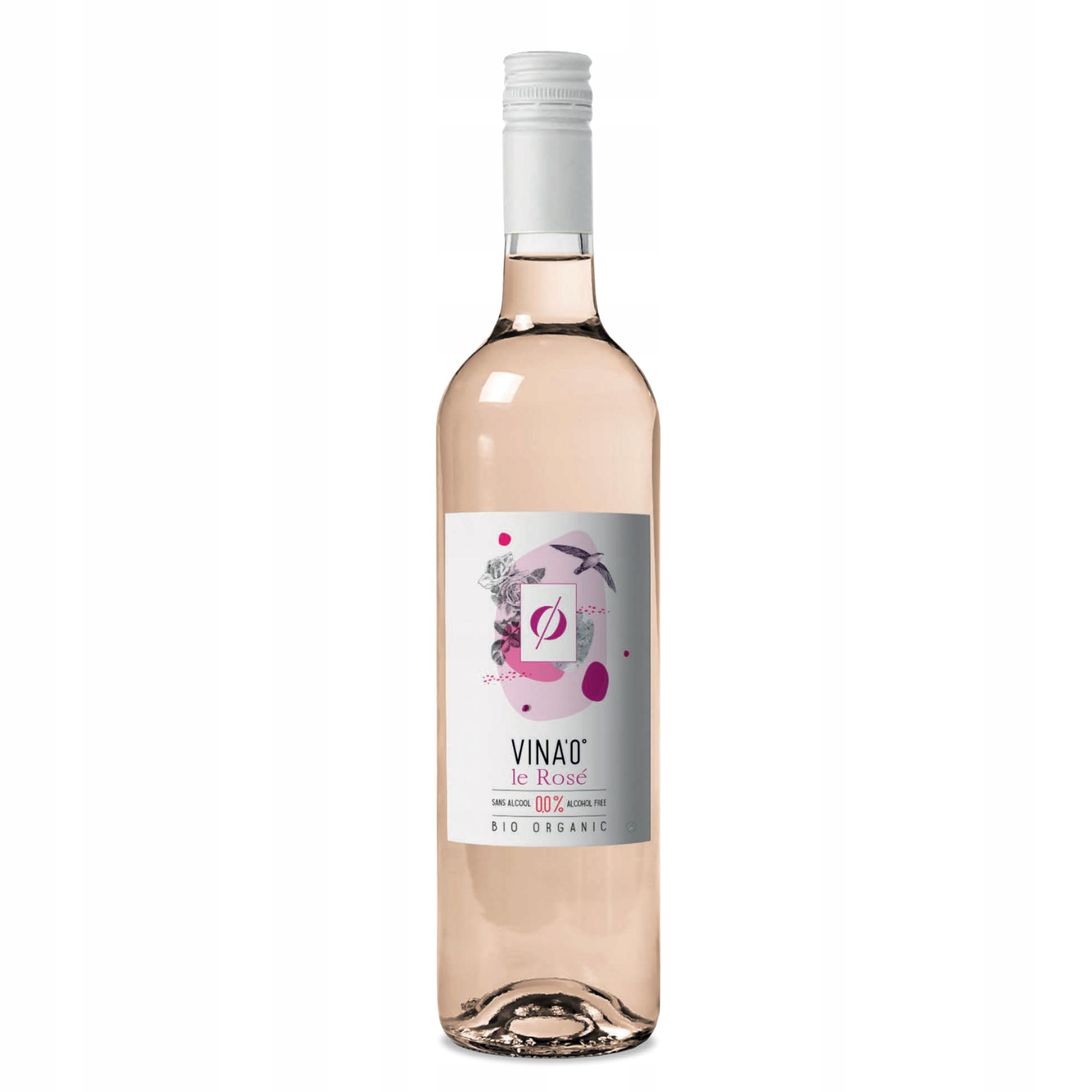 Вино безалкогольное VINA'0 ° Le Rose BIO 0,0% розовое