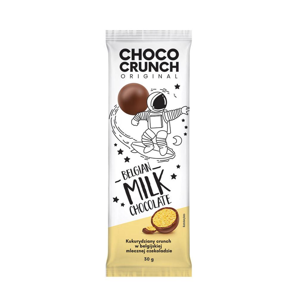 ChocoCrunch БЕЛЬГИЙСКИЙ молочный шоколад 30 г
