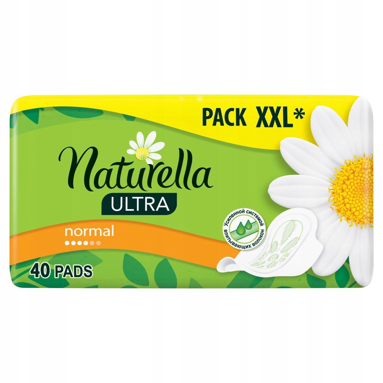 NATURELLA ULTRA NORMAL CAMOMILE X40 РУЧКИ
