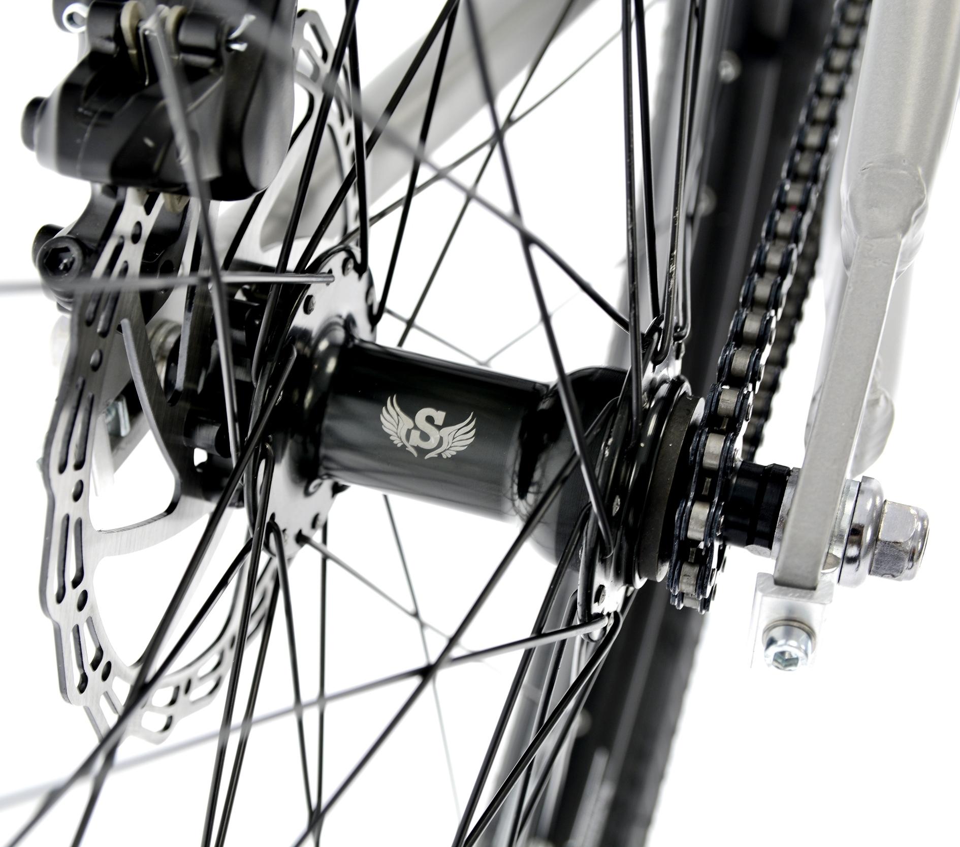 Rower Kands 26 DIRT COLT V2 13 SZARY R21 Materiał ramy aluminium