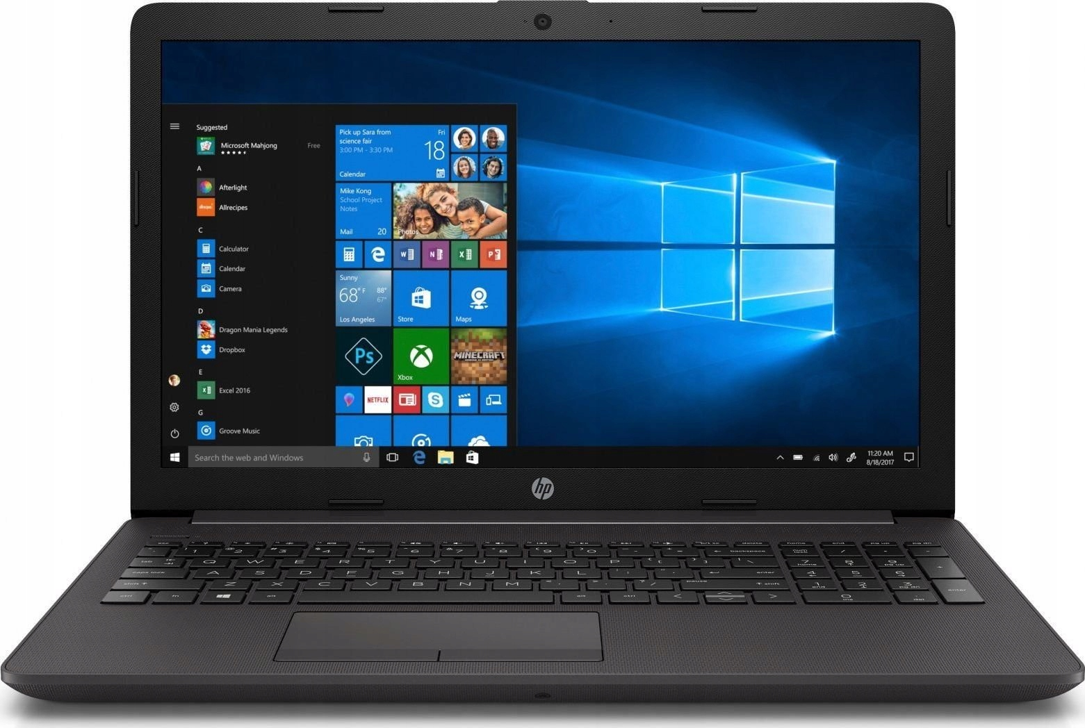 Komputer Laptop Hp Ryzen 3500U Ssd 256GB 8GB DDR4
