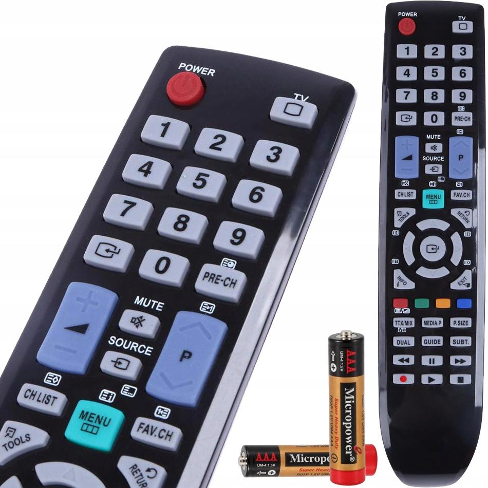 PILOT DO TELEWIZORA TV SAMSUNG HD/LCD/LED/4K/UHD