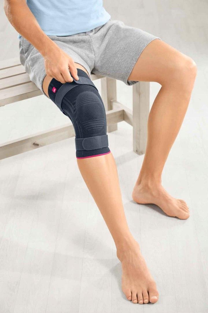 ORTEZA KOLANA Z PIERŚCIENIEM I PASKAMI MOCUJĄCYMI Rodzaj orteza kolana