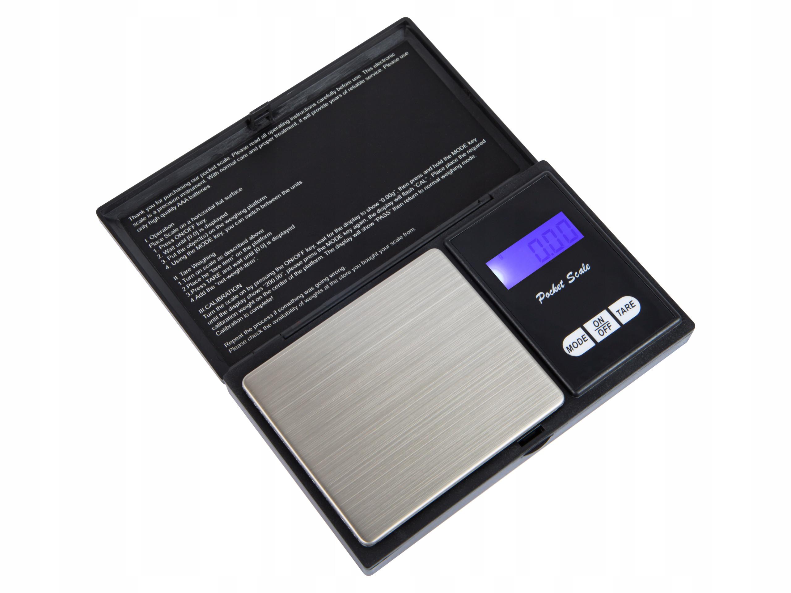 Precyzyjna waga jubilerska Blow cyfrowa LCD 500g