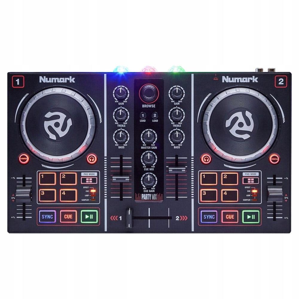 Item Numark Party Mix   dj controller   Serato DJ Lite  