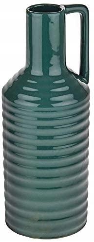 Váza na fľaše CB Designs Retro, zelená 28 cm