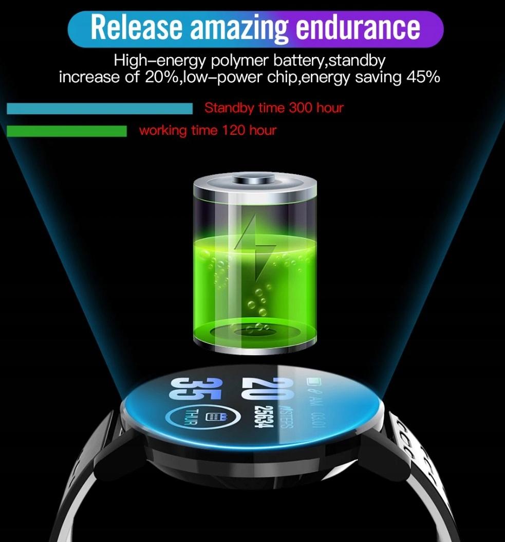 Zegarek Smartwatch Bluetooth 16w1 kroki puls cykl Kompatybilność systemowa Android