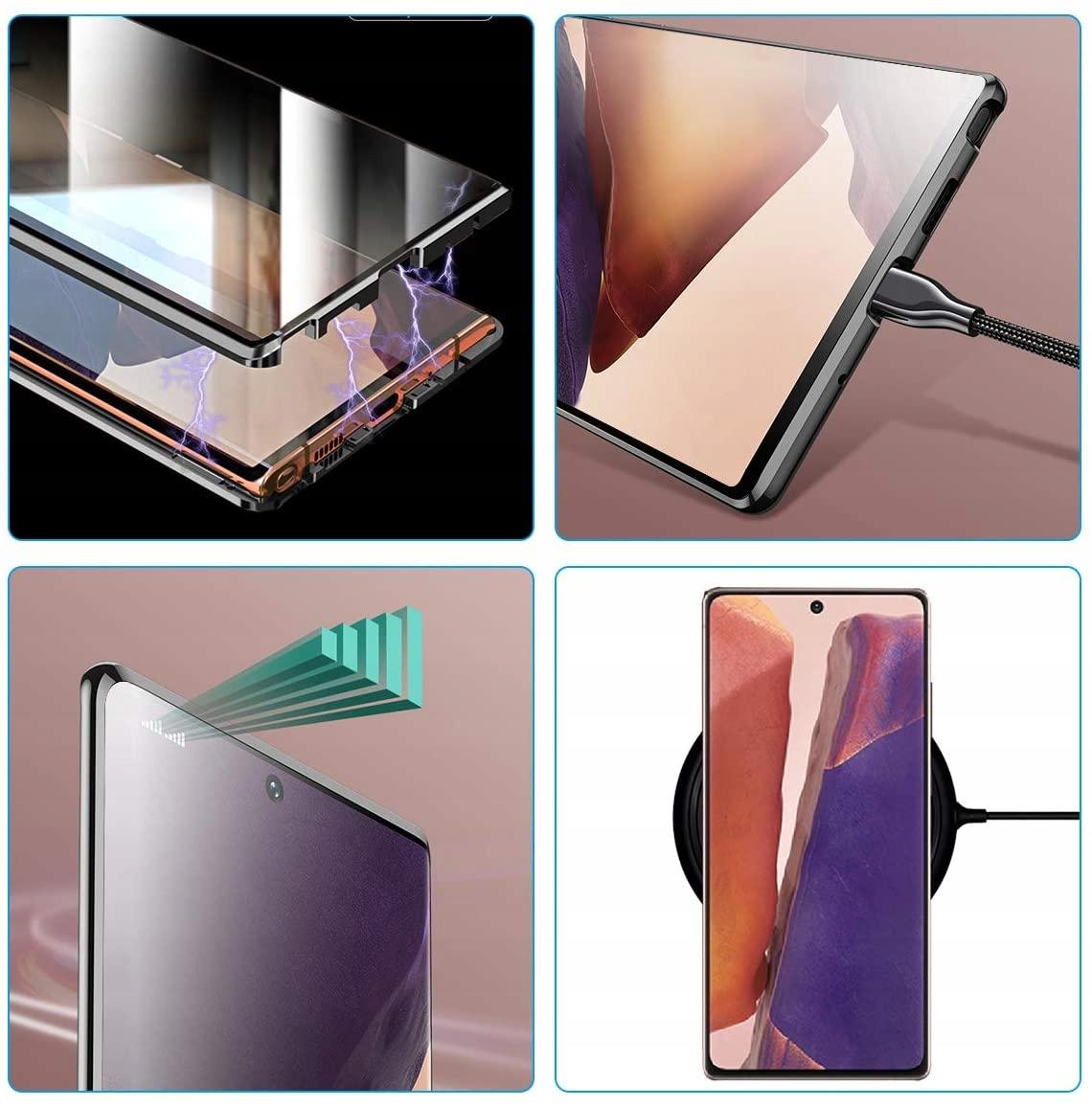 Etui magnetyczne do Samsung Galaxy Note 20 Typ ramka (bumper)