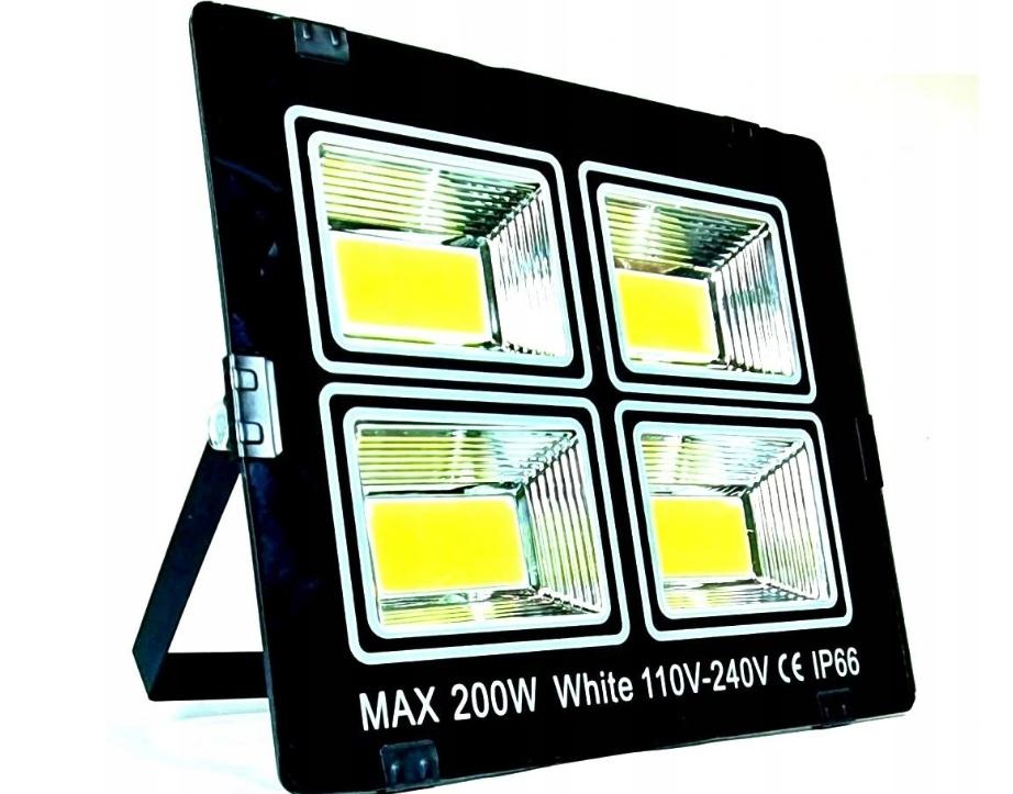 Мощная галогенная светодиодная лампа с сертификатом излучения 200 Вт