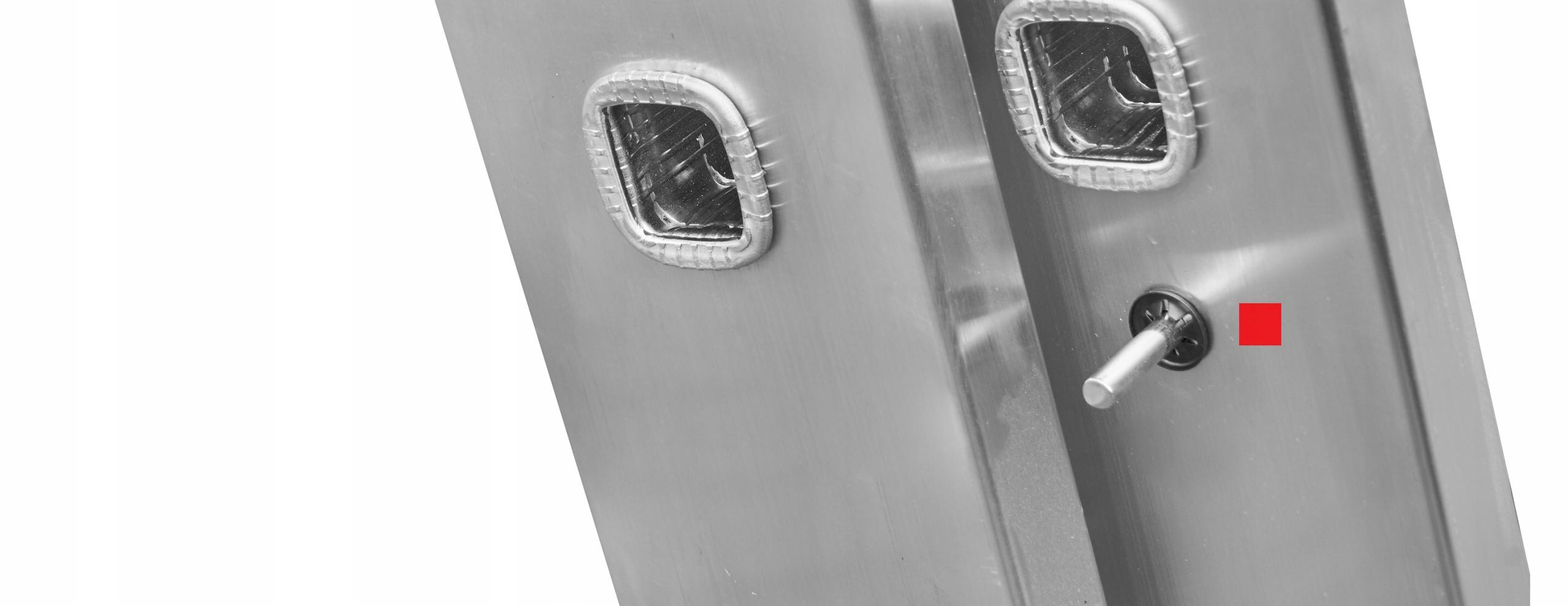 DRABINA aluminiowa WIELOFUNKCYJNA 3x9 150 kg +HAK Maksymalny udźwig 150 kg