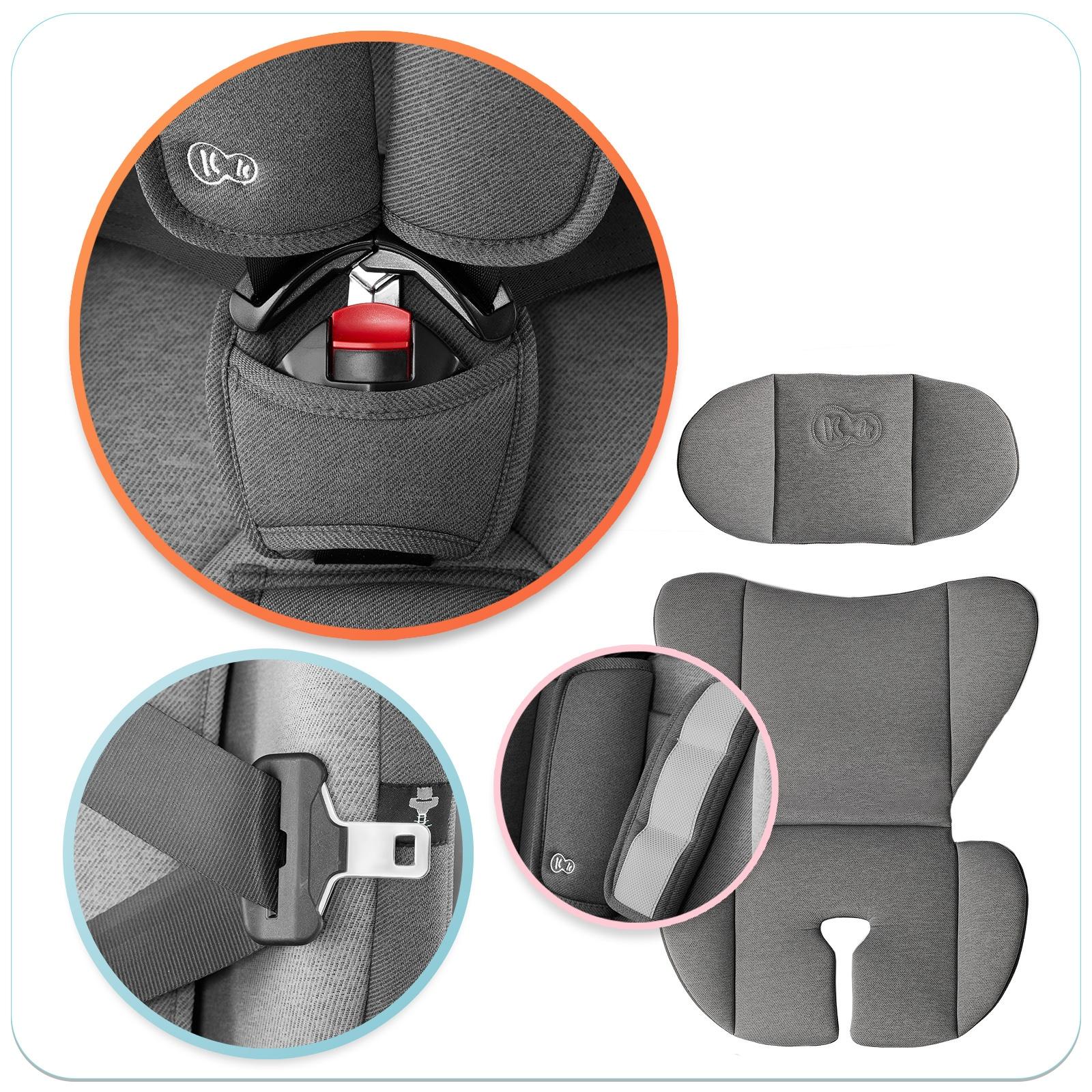 Fotelik Samochodowy 936 isofix Kinderkraft Oneto3 Sposób montażu samochodowy pas bezpieczeństwa ISOFIX