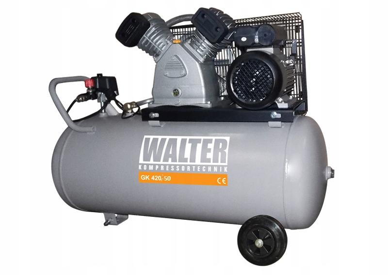 WALTER KOMPRESOR TŁOKOWY GK420-2,2/50 GRATISY Marka Walter