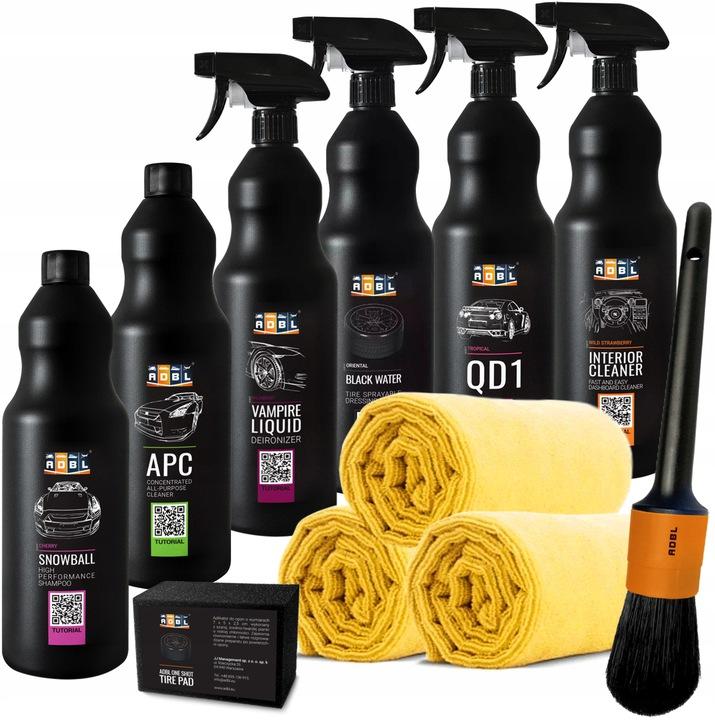 ADBL - Profesjonalne Kosmetyki Samochodowe Zestaw