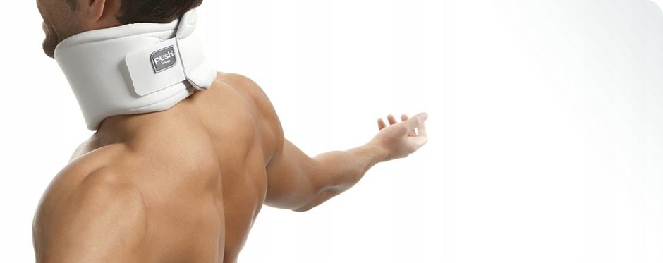 KOŁNIERZ STABILIZUJĄCY ORTOPEDYCZNY PUSH CARE M Wysokość ortezy 8 cm