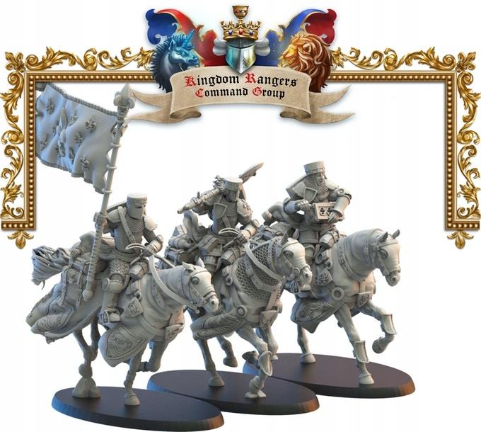 Kráľovstvo Mercia Rangers CMD-Lost Kráľovstvo-3D Tlač