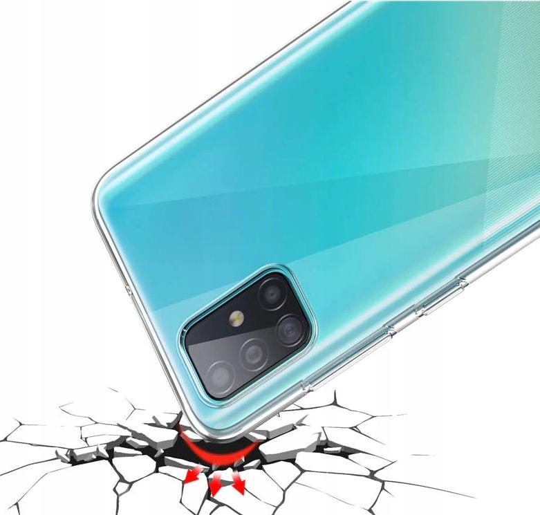 Etui do Samsung Galaxy M51 Clear Case + Szkło 9H Kod producenta P7