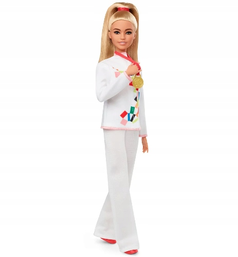 Barbie Doll Karate Tokyo Olympian 2020 GJL74 Child Age 3 Years +