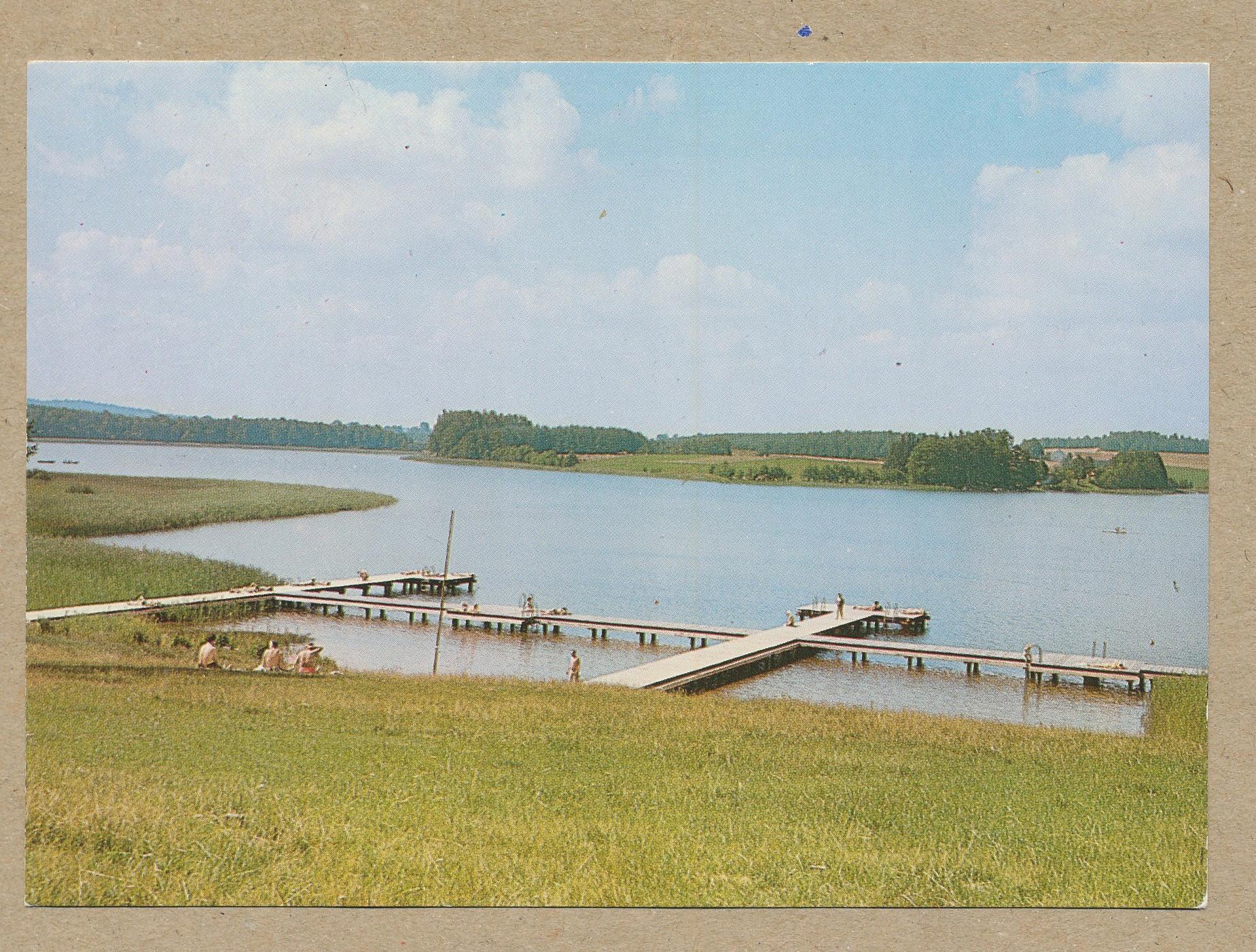 POJEZIERZE MAZURSKIE Jezioro Orzyc 1983 Barczewo