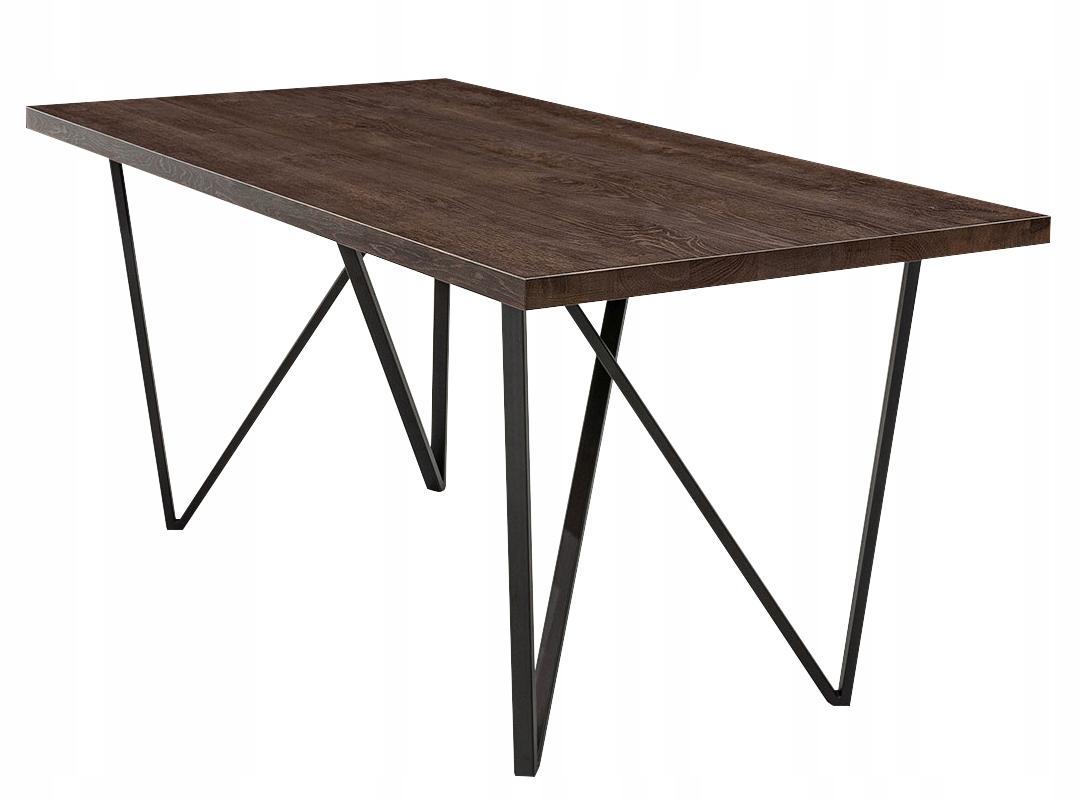 RETRO stôl z masívneho dubového dreva 90 x 140 RAVEL